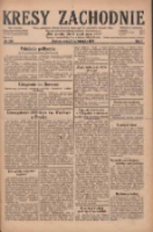 Kresy Zachodnie: pismo poświęcone obronie interesów narodowych na zachodnich ziemiach Polski 1929.10.02 R.7 Nr226