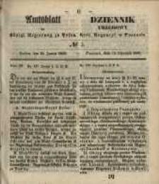 Amtsblatt der Königlichen Regierung zu Posen. 1850.01.15 Nr 3