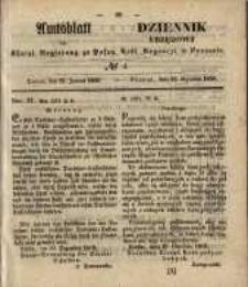 Amtsblatt der Königlichen Regierung zu Posen. 1850.01.22 Nr 4