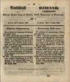 Amtsblatt der Königlichen Regierung zu Posen. 1850.02.05 Nr 6