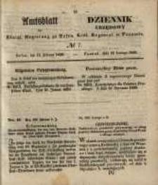 Amtsblatt der Königlichen Regierung zu Posen. 1850.02.12 Nr 7