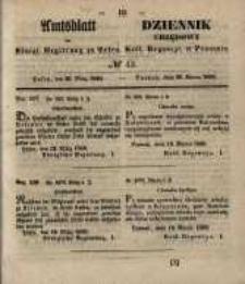 Amtsblatt der Königlichen Regierung zu Posen. 1850.03.26 Nr 13