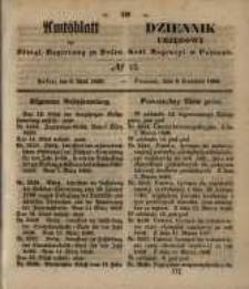 Amtsblatt der Königlichen Regierung zu Posen. 1850.04.09 Nr 15