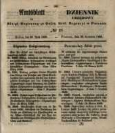 Amtsblatt der Königlichen Regierung zu Posen. 1850.04.30 Nr 18