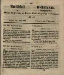Amtsblatt der Königlichen Regierung zu Posen. 1850.05.07 Nr 19