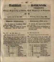 Amtsblatt der Königlichen Regierung zu Posen. 1850.05.14 Nr 20