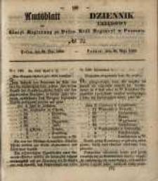 Amtsblatt der Königlichen Regierung zu Posen. 1850.05.28 Nr 22