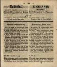 Amtsblatt der Königlichen Regierung zu Posen. 1850.06.18 Nr 25