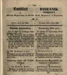 Amtsblatt der Königlichen Regierung zu Posen. 1850.07.02 Nr 27