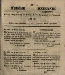 Amtsblatt der Königlichen Regierung zu Posen. 1850.07.09 Nr 28