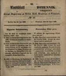 Amtsblatt der Königlichen Regierung zu Posen. 1850.07.16 Nr 29