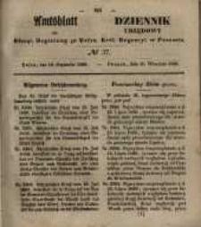 Amtsblatt der Königlichen Regierung zu Posen. 1850.09.10 Nr 37