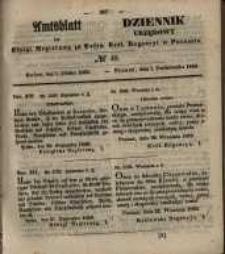 Amtsblatt der Königlichen Regierung zu Posen. 1850.10.01 Nr 40
