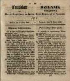Amtsblatt der Königlichen Regierung zu Posen. 1850.03.12 Nr 11
