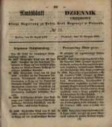 Amtsblatt der Königlichen Regierung zu Posen. 1850.08.13 Nr 33