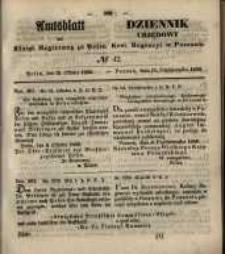 Amtsblatt der Königlichen Regierung zu Posen. 1850.10.15 Nr 42