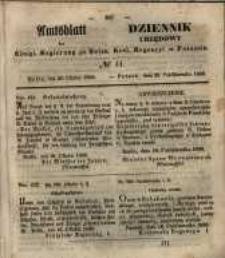 Amtsblatt der Königlichen Regierung zu Posen. 1850.10.29 Nr 44