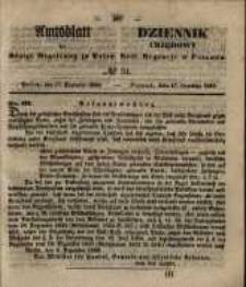 Amtsblatt der Königlichen Regierung zu Posen. 1850.12.17 Nr 51