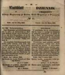 Amtsblatt der Königlichen Regierung zu Posen. 1855.03.13 Nr.11