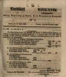 Amtsblatt der Königlichen Regierung zu Posen. 1855.04.10 Nr.15