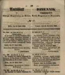 Amtsblatt der Königlichen Regierung zu Posen. 1855.04.24 Nr.17