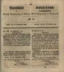 Amtsblatt der Königlichen Regierung zu Posen. 1855.09.18 Nr.38