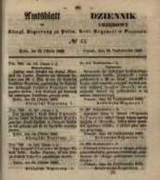 Amtsblatt der Königlichen Regierung zu Posen. 1855.10.23 Nr. 43