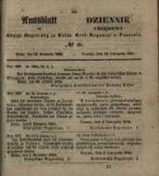 Amtsblatt der Königlichen Regierung zu Posen. 1855.11.13 Nr. 46