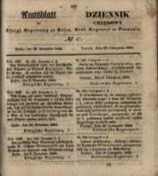 Amtsblatt der Königlichen Regierung zu Posen. 1855.11.20 Nr. 47