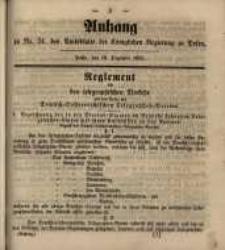 Anhang zu Nro. 51 des Amtsblatts der Königlichen Regierung zu Posen. Posen, den 18. December 1855