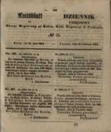 Amtsblatt der Königlichen Regierung zu Posen. 1854.06.13 Nro.24