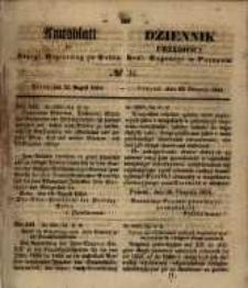 Amtsblatt der Königlichen Regierung zu Posen. 1854.08.22 Nro.34