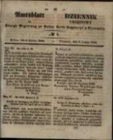 Amtsblatt der Königlichen Regierung zu Posen. 1848.02.08 Nro.6