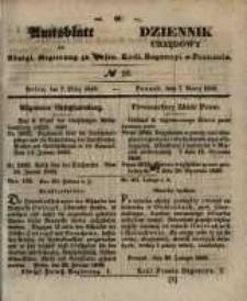 Amtsblatt der Königlichen Regierung zu Posen. 1848.03.08 Nro.10