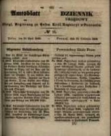 Amtsblatt der Königlichen Regierung zu Posen. 1848.04.19 Nro.16