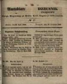 Amtsblatt der Königlichen Regierung zu Posen. 1848.04.26 Nro.17
