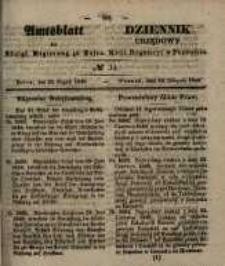 Amtsblatt der Königlichen Regierung zu Posen. 1848.08.23 Nro.34