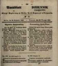 Amtsblatt der Königlichen Regierung zu Posen. 1848.09.27 Nro.39