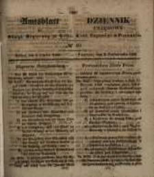 Amtsblatt der Königlichen Regierung zu Posen. 1848.10.04 Nro.40