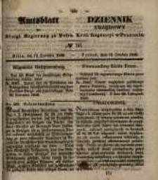 Amtsblatt der Königlichen Regierung zu Posen. 1848.12.13 Nro.50