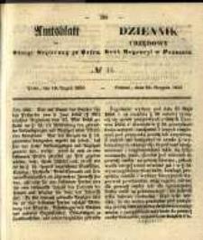 Amtsblatt der Königlichen Regierung zu Posen. 1856.08.19 Nro.34