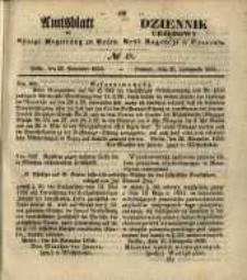 Amtsblatt der Königlichen Regierung zu Posen. 1856.11.25 Nro.48