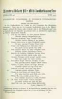 Zentralblatt für Bibliothekswesen. 1929.06 Jg.46 heft 6