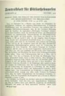 Zentralblatt für Bibliothekswesen. 1929.10 Jg.46 heft 10