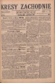 Kresy Zachodnie: pismo poświęcone obronie interesów narodowych na zachodnich ziemiach Polski 1929.10.18 R.7 Nr240