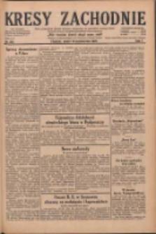 Kresy Zachodnie: pismo poświęcone obronie interesów narodowych na zachodnich ziemiach Polski 1929.10.19 R.7 Nr241