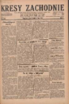 Kresy Zachodnie: pismo poświęcone obronie interesów narodowych na zachodnich ziemiach Polski 1929.10.23 R.7 Nr244