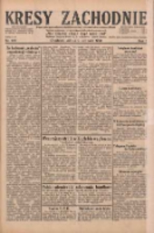 Kresy Zachodnie: pismo poświęcone obronie interesów narodowych na zachodnich ziemiach Polski 1929.11.09 R.7 Nr258
