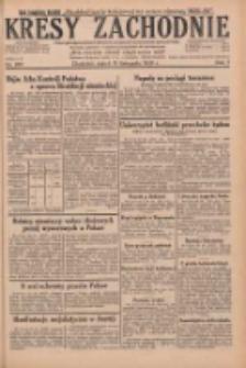 Kresy Zachodnie: pismo poświęcone obronie interesów narodowych na zachodnich ziemiach Polski 1929.11.15 R.7 Nr263