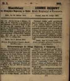 Amtsblatt der Königlichen Regierung zu Posen. 1860.02.28 Nro.9